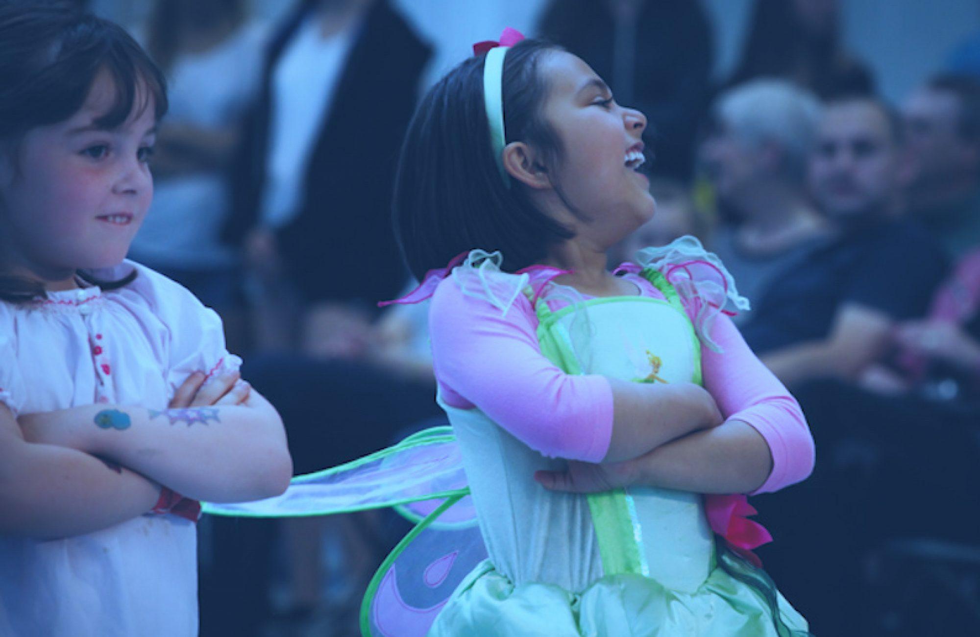 Mini sjov og ballet dansehold
